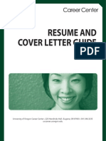 Resume Cover Letter Guide Revised 6 09