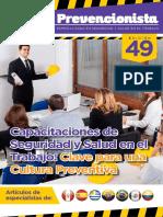 Revista El Prevencionista 49 Edición