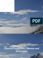FINANCIAL MARKET, INSTRUMENT AND INSTITUTION