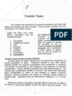 Chapter 1 - SUCCESSION & TRANSFER TAXES