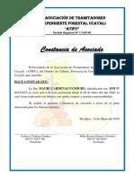 Asociación DE TRAMITADORES