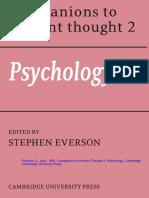 Lovibond, S., 1991, Plato's theory of mind