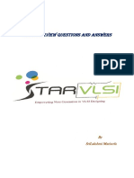 STA Interview Questions and Answers by Sri PDF