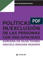 Políticas de inexclusión de las personas con discapacidad