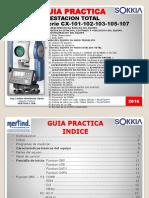 Guia Practica Estacion Total Sokkia Serie CX