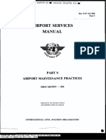 ICAO- Airport Services Manual (DOC9137) Part 9 Airport Maint