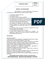 MANUAL DE OPERACIONES CABALGATAS