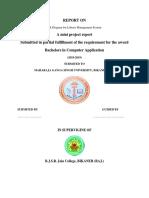 ER Diagram for Library Management System