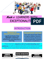 Learner with disabilities