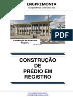 Construção de Prédio Em Registro