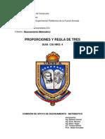 CIU Tema IV Proporciones