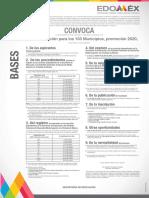CONVOCATORIA PUBLICACIÓN EDOMEX 2020