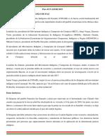 PARO 2 -ECUADOR 2019