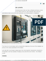 The Essence of LV Circuit Breakers - Releases, Tripping Curves, Characteristics
