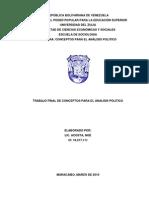 Analisis Del Sistema Politico Venezolano Desde La Teoria Politica de David Easton