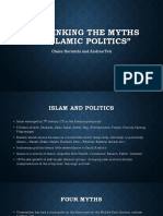 Rethinking the myths of politics
