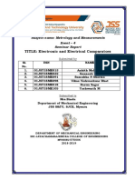 Metrology Electric and Electronic Comparators
