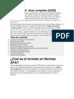 Normas APA 2020