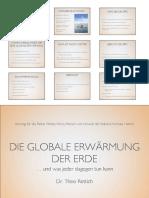 PDF Globale Erwärmung