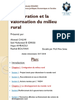 integration de milieu rural