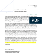 Scribd Second Letter Regarding Pension Product Business Proposal for the Prime Minister of the UK.