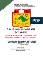 Plan Del Buen Inicio2020docx