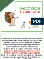 Ghicitorile alfabetului