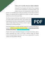 LA CONTAMINACIÓN DEL AGUA Y EL IMPACTO EN EL MEDIO AMBIENTE 2
