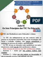 Aula 03 _ Os Sete Princípios das TIC