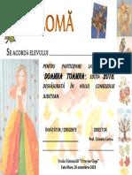 Diploma_Doamna Toamna-2018
