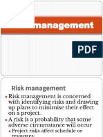 Risk management notes