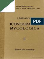 Bresadola, G. (1927) - Iconographia Mycologica. Vol. 02