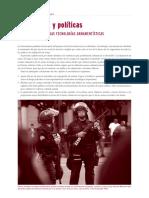 ADQUISICION Y POLITICAS - USO POLICIAL NUEVAS TECNOLOGIAS ARMAMENTISTICAS