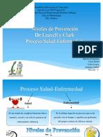 Niveles de Prevencion de Leavell y Clark Proceso Salud Enfermedad (1) Convertido