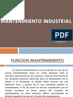 Armando Barrios  - Funcion Mantenimiento