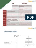 Organizaciones Formal e Informal
