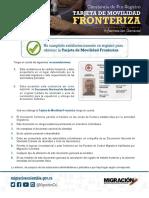 Tramites carnets fronterizo colombo-venezolana