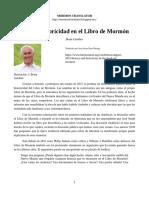 HISTORIA E HISTORICIDAD EN EL LIBRO DE MORMON