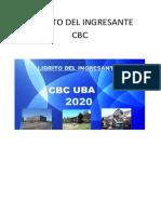 LIBRITO DEL INGRESANTE CBC 2020
