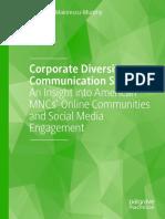 Roxana D. Maiorescu-Murphy - Corporate Diversity Communication Strategy_ An Insight Into American MNCs' Online Communities And Social Media Engagement-Palgrave Macmillan (2020)