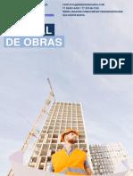 MANUAL DE OBRAS - PEQUENO E MÉDIO PORTE (BNS ENGENHARIA)