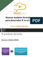 M2. V2. Inteligencia Emocional en el ámbito educativo