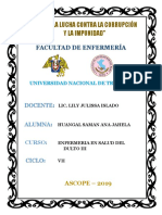 CASO CLINICO PACIENTE CON ESQUIZOFRENIA PARANOIDE