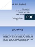 SULFUROS GEOLOGIA