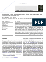 2013- 204- Antimicrobial activity of rhamnolipids against L. monocytogenes and their synergistic interaction with nisin