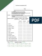 Cuestionario neuropsiquiatrico NPI