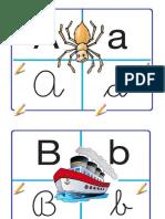 abecedario para la sala 2