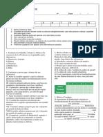2.9,PROVA  – Aula 2 - ATOMICIDADE - modelos atômicos