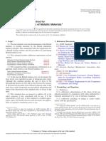 ASTM E10-14 Standard Test Method for Brinell Hardness of Metallic Materials