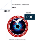 STS-83 Press Kit